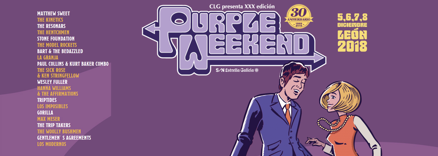 Proconsi colabora con el Festival Purple Weekend 2018
